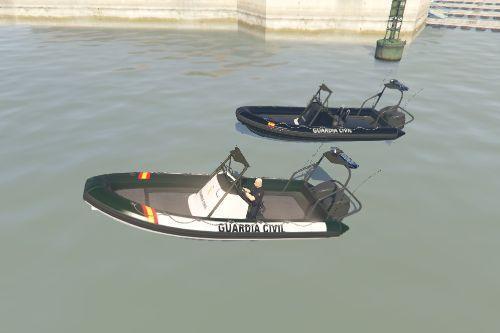 Lanchas neumaticas servicio maritimo guardia civil