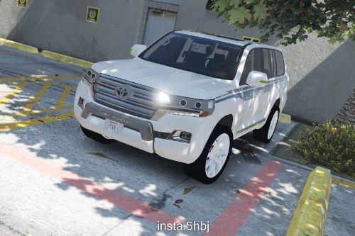 2016 Toyota Land Cruiser GXR [Add-On / Replace]