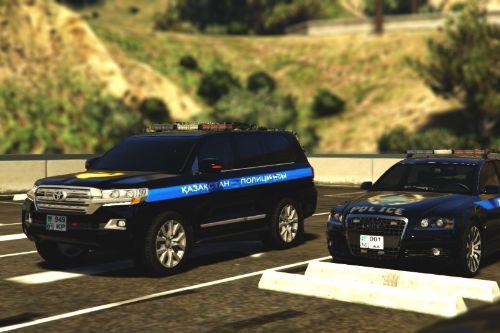 Land Cruiser Kazakhstan Police