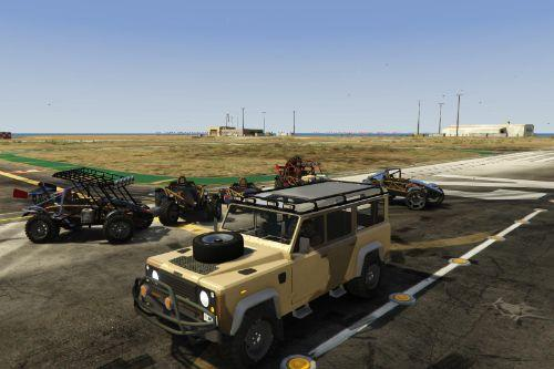 Land Rover Defender 110 [Extras | Template | Unlocked]