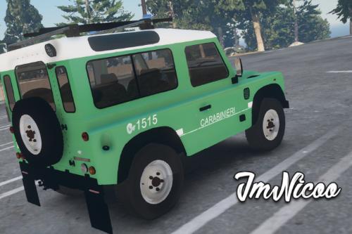 Land Rover Defender - Carabinieri Forestali ( Paintjob | Fivem )