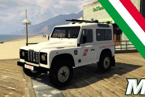 Land Rover Defender - Guardia Costiera [Add-On]
