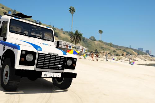 Land Rover Defender Polizia Municipale (Riccione) (SKIN)