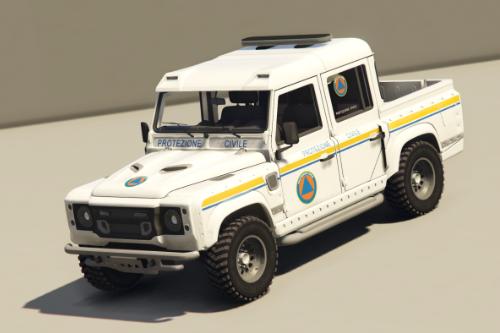 Land Rover Defender - Protezione Civile