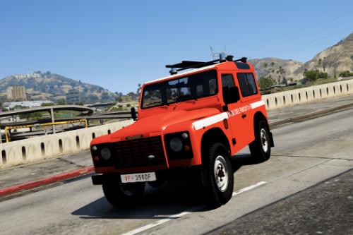 Land Rover Defender - Vigili del Fuoco 115 (Paintjob | FiveM)