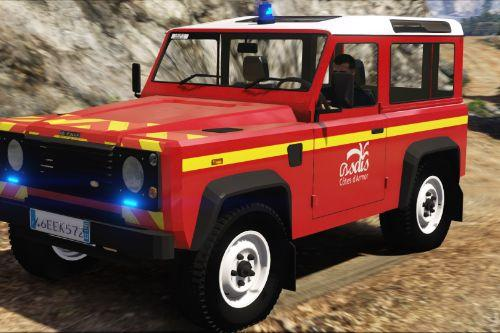 Land-Rover Defender VLHR Sapeurs-Pompiers [Add-on - ELS]