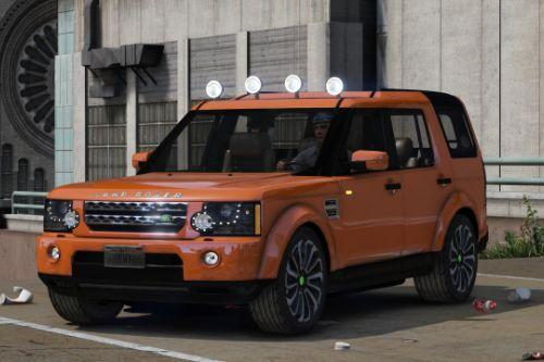 Land Rover Discovery 4 (add-on)