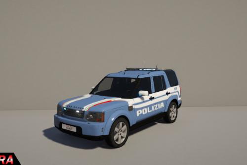 Land Rover Discovery - Polizia Italiana - [ELS+Template]