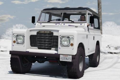 Land Rover Pickup Series 3 1988 [Add-On / Replace | Livery | Extras]