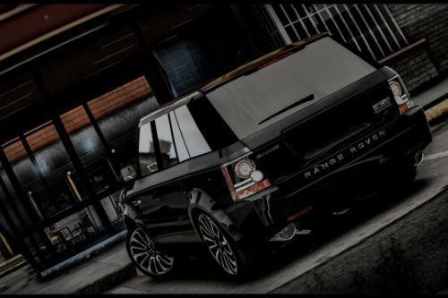 Land Rover Range Rover Sport 2012 Baku Style [Replace]