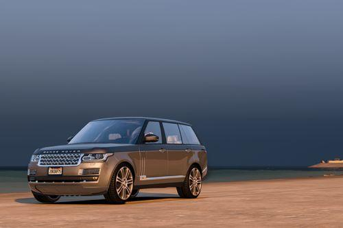 Land Rover Range Rover SV Autobiography LWB'15