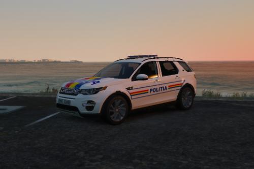 Land Rover Sport Romanian Politia