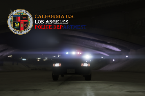 LAPD 2010 Crown Victoria[Texture]