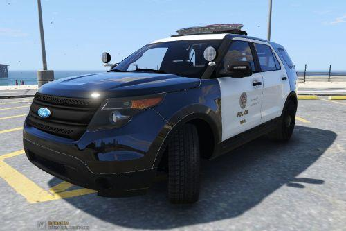 LAPD 2014 Ford Explorer Police Interceptor Utility
