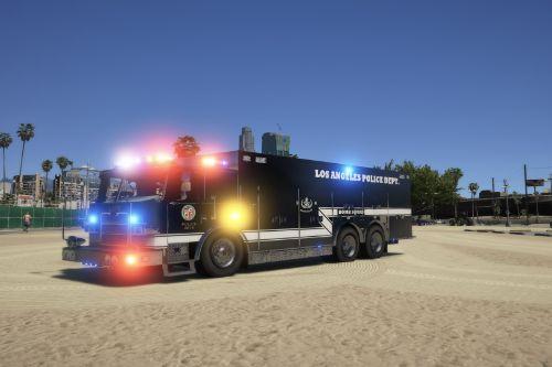 LAPD BOMB SQUAD UNIT ELS