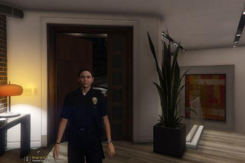 LAPD styled badge Fix(Female)