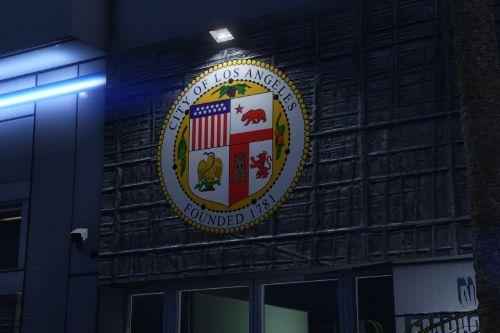 LAPD Hollywood Dept & Real Billboards - Realism Mod