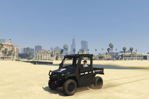 LAPD John Deer Gator (livery)