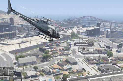 LAPD/LSPD Retro AS-350 Ecureuil