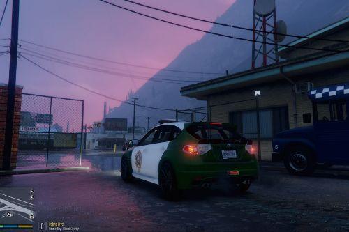 LAPD / LSSD Subaru WRX Skins
