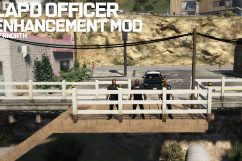 LAPD Officer Ped Enhancement