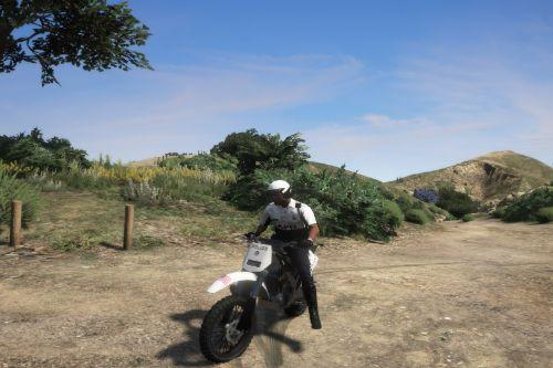 LAPD Off-road Unit Officer