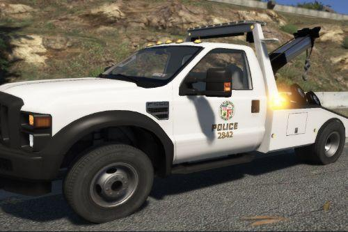 LAPD real tow truck