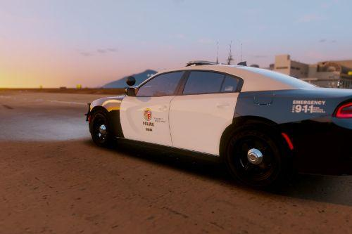 LAPD Skin for Gump's ELS 2015 Dodge Charger RT