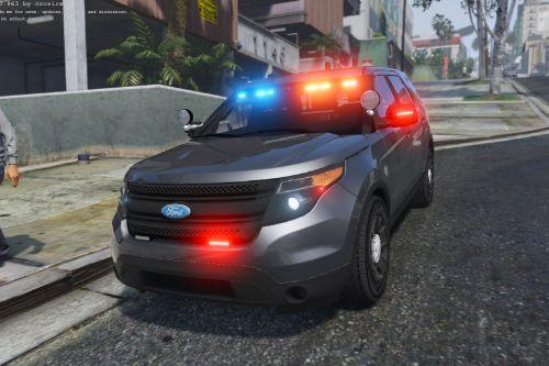 LAPD SWAT / Unmarked / Slicktop 2014 Ford Police Interceptor Utility