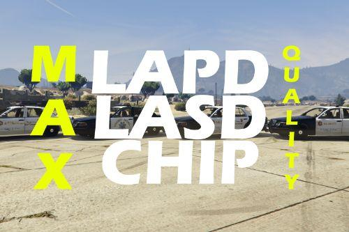LAPD / LASD / CHIP liveries for 1999 Ford Crown Victoria