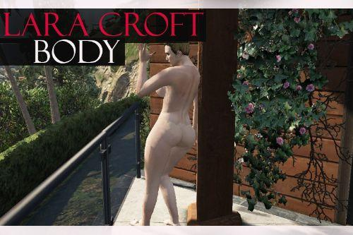 Lara Croft nude body for mpfemale w/template and traceys feet