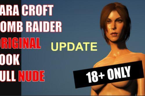 Lara Croft Tomb Raider Original Full Nude 18+ update clothes hair physics