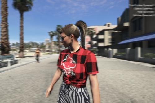 Lara Retextured Clothes
