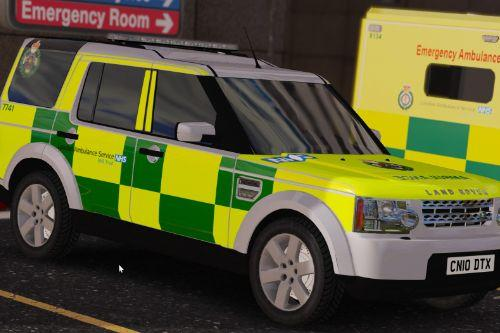 London Ambulance Service Land Rover Discovery 4