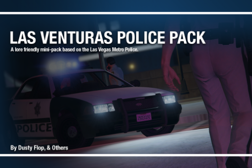 Las Venturas Police Department Pack | LVPD [Add-On]