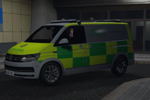 London Ambulance Service VW Incident response team [ELS]