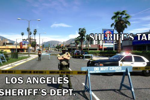 LASD Sheriff's Tape