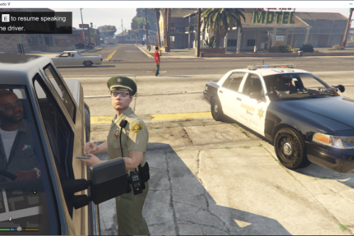 LASD Sheriff Uniform Hat