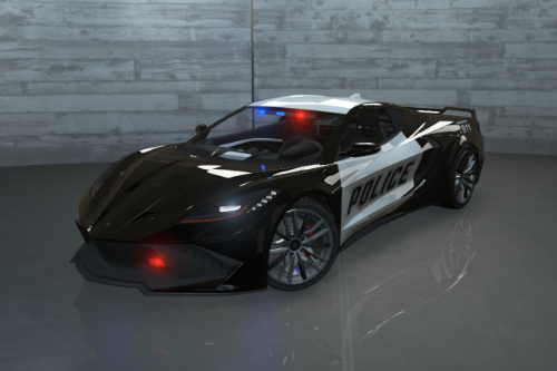 Law-Enforcement Coquette D10 Pack [Add-On | LODs | Sounds]