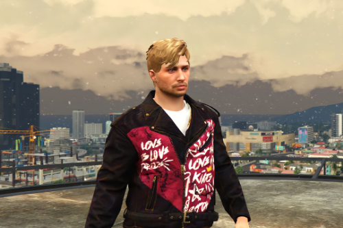 leather jacket for mp male retexture