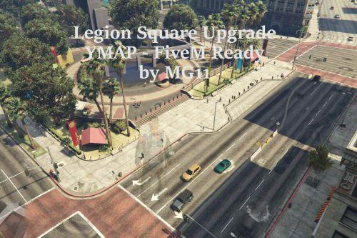 Legion Square Meeting Point for Roleplay [SP / FiveM]