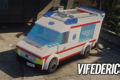 Lego City - Ambulance  [Add-On / Replace | ELS]