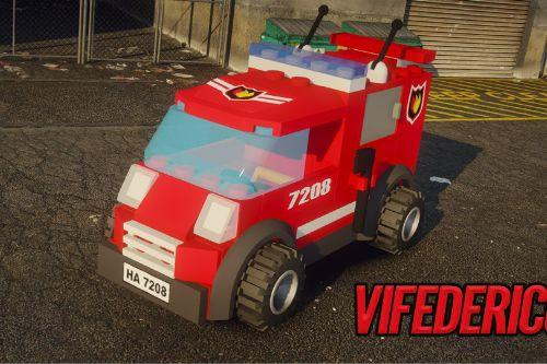 Lego City Rescue Unit - Firefighter Replace/Add-on [ELS]