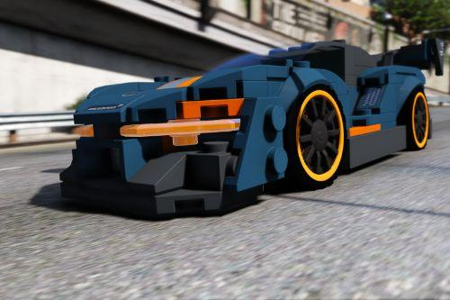 LEGO Mclaren Senna 2019 [Add-On / Replace | Template | OIV]