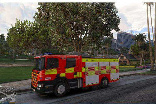Leicestershire Fire and Rescue Scania P280