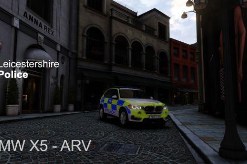 Leicestershire Police 4K - BMW X5 ARV 2016
