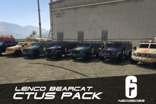Lenco Bearcat CTUs Pack (Rainbow Six Siege) [ADDON]