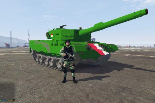 Leopard 2A4 Indonesian Skin