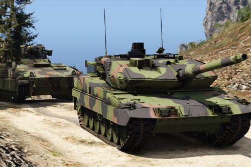 Leopard 2A7V [Add-On | Many visual tuning options]