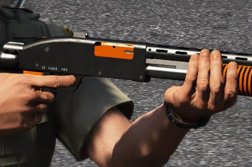 Less Lethal Shotgun Skin